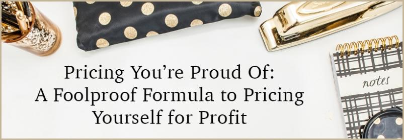 Pricing: The No Nonsense Formula | Kimberly Haydn Coaching