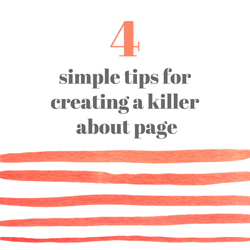 Does your about page need a makeover? Learn to craft a killer about page, that turns viewers into fans, with these tips!