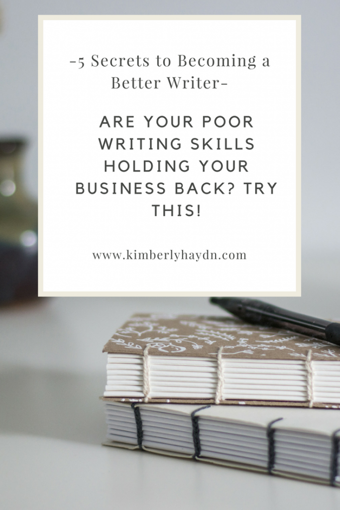 how to become a business writer